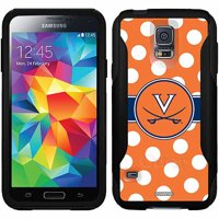 University of Virginia Polka Dots Design on OtterBox Commuter Series Case for Samsung Galaxy S5
