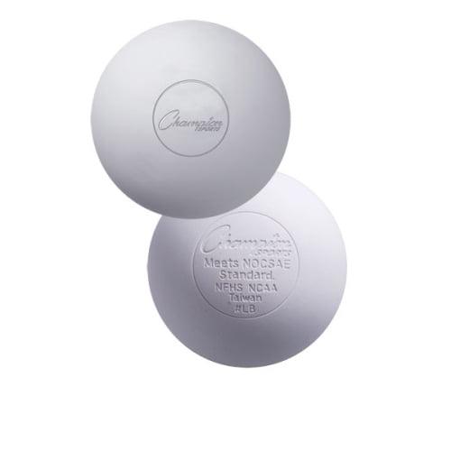 Champion Sports NOCSAE Lacrosse Balls, White Set of 12 by Champion Sports