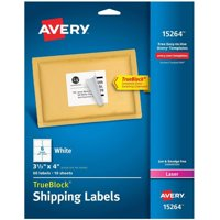 Deals on 60-Pack Avery Shipping Address 3-1/3x4 Labels