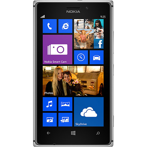 Nokia Lumia 1020 RM-877 AT&T Windows Smartphone, Black