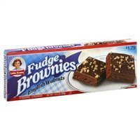 Little Debbie: Fudge Brownies with Walnuts 6/3 Oz. (3 Boxes) by Little Debbie Maple Walnut Fudge