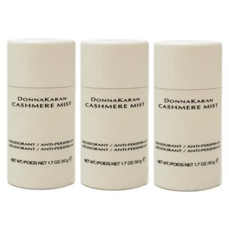 newest 8de6c ef6ab Donna Karan Cashmere Mist Anti-Perspirant Deodorant Stick for Women, 1.7 Oz  - 3 Pack