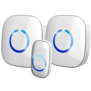 Best Wireless Doorbells - Long Range Wireless Black Doorbell Light Loud 52 Review