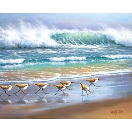 Piper Wave Canvas Art - Sung Kim (24 x 30) ()