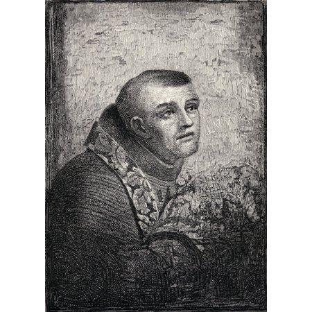 Father Junipero Serra Jose Miguel Serra Y Ferrer 1713 - 1784 Spanish Franciscan Friar Founder Of Mission Chain In Alta California America From The Book The Century Illustrated Monthly Magazine May To