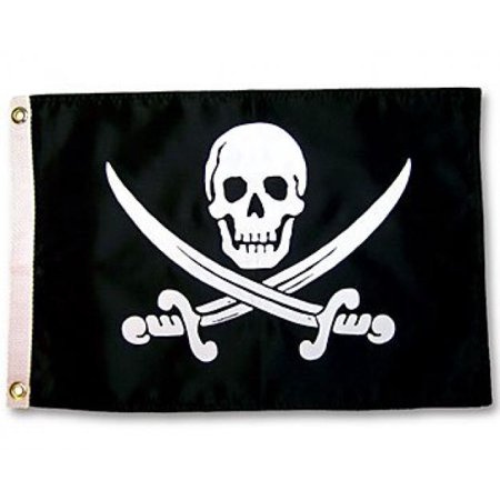 - Pirate Jack Rackham Outdoor Garden Flag 12X18in