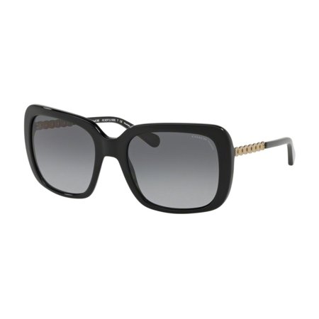 943579c2fe9 Coach - Sunglasses Coach HC 8237 5002T3 BLACK - Walmart.com