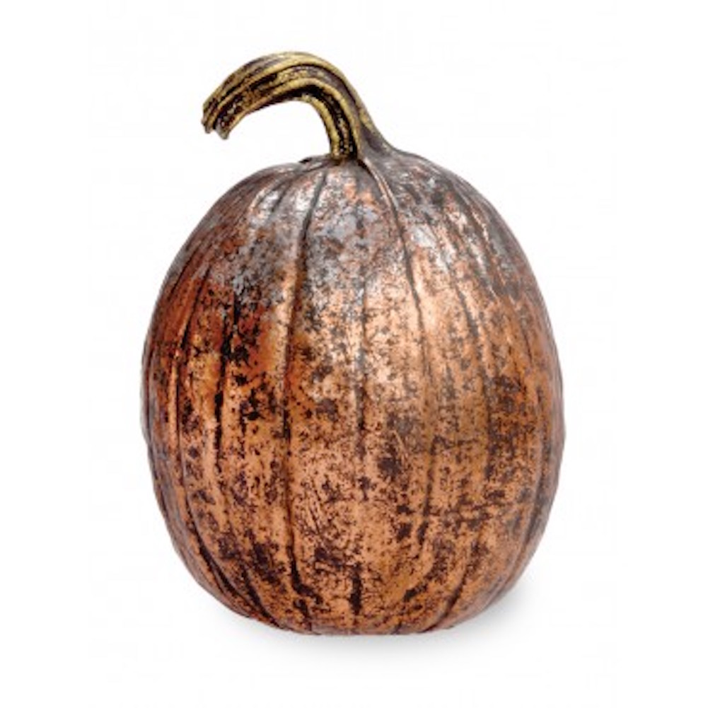 Boston International - Tall Pumpkin - Aged Copper - Large