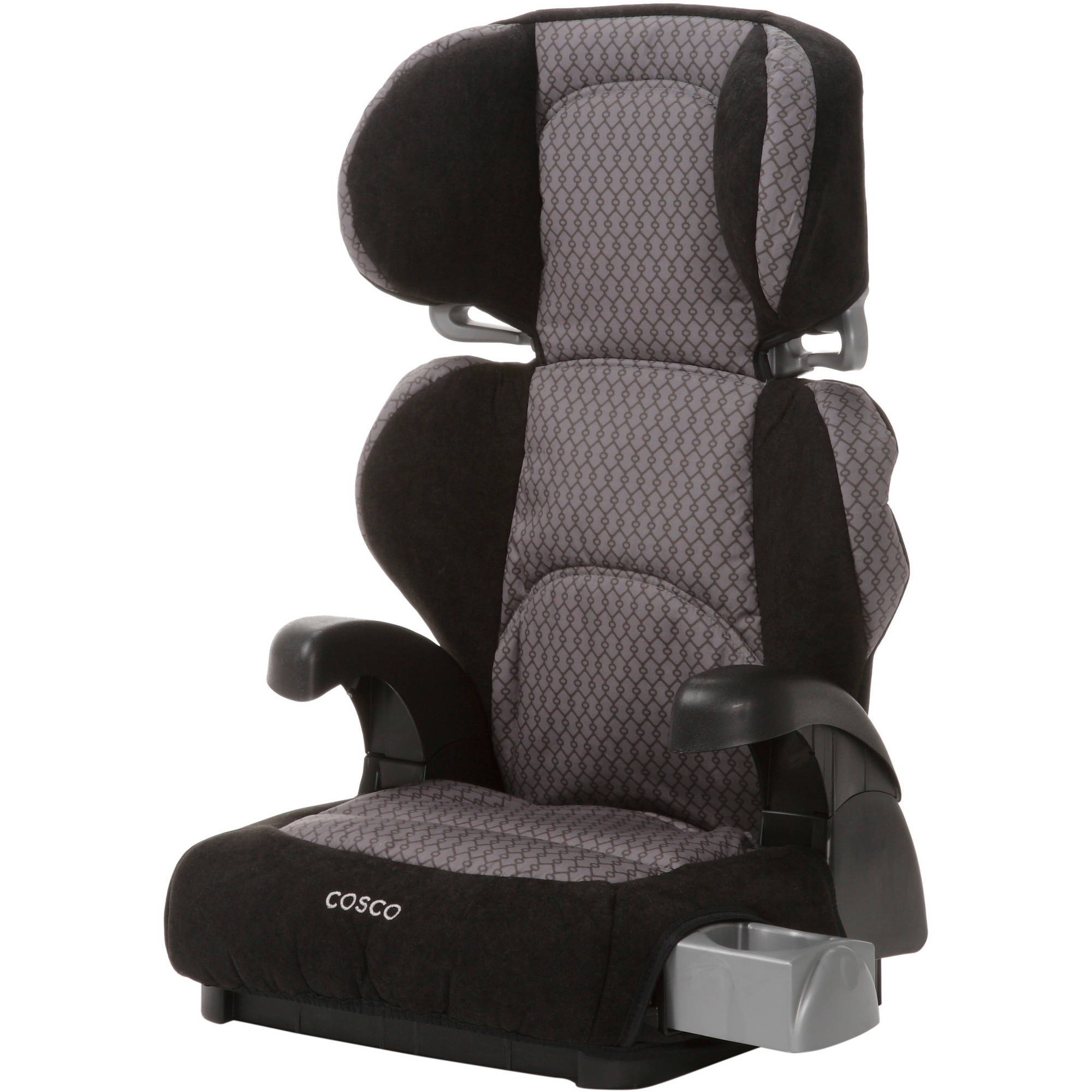 Cosco Pronto! Booster Car Seat for Children, Adjustable Headrest, Integrated Cup Holders