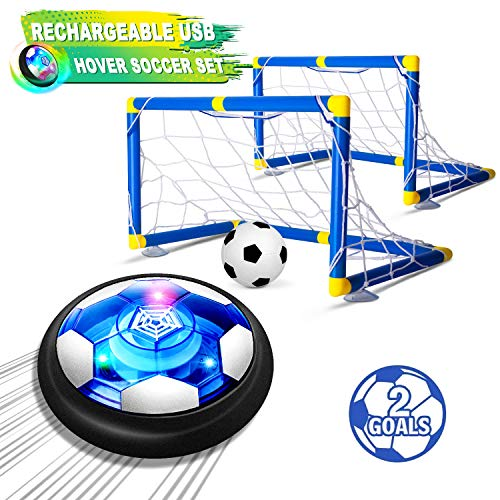 2-in-1 Kids Toys for Boys and Girls Age 3-12 2020 Upgraded BATURU Hover Soccer Ball for Kids Rechargeable W// Night Lights