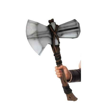 Avengers: Endgame Stormbreaker Adult Thor Hammer - Size One Size (Thor Kids Hammer)