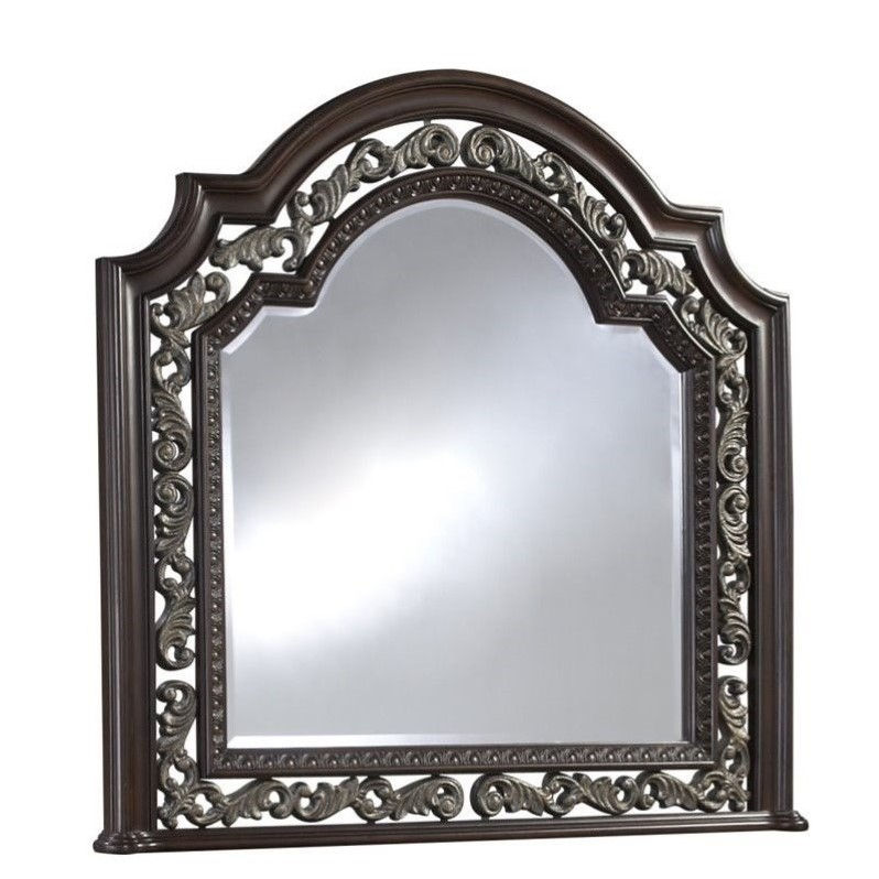 Samuel Lawrence San Marino Mirror in Dark Brown