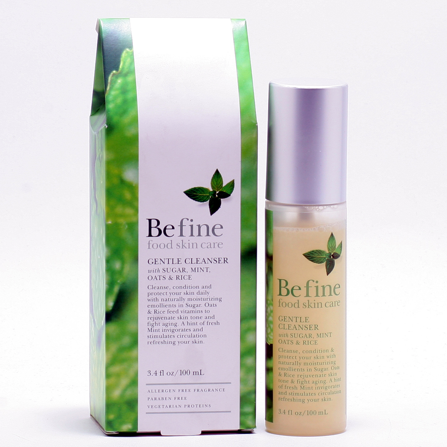 BEFINE GENTLE CLEANSER - PUMP 3.4 OZ
