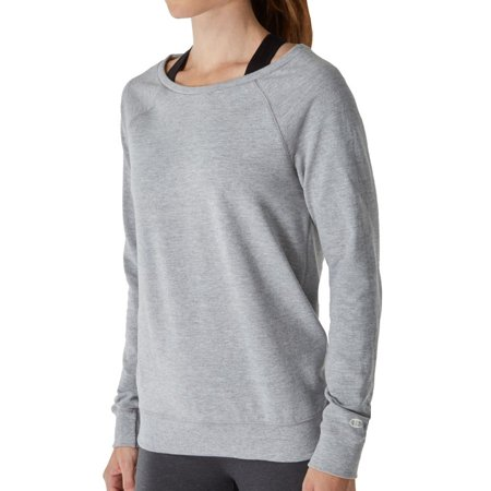 Boatneck Sweatshirt (champion w0943 french terry long sleeve boatneck crew top)