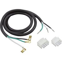 Cord, Hydro-Quip, 14/3 x 48, White AMP-3/AMP-4 Male(G, B, W)