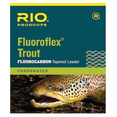 Rio Fluoroflex 9 ft Knotless Tapered Leaders - Fly Fishing