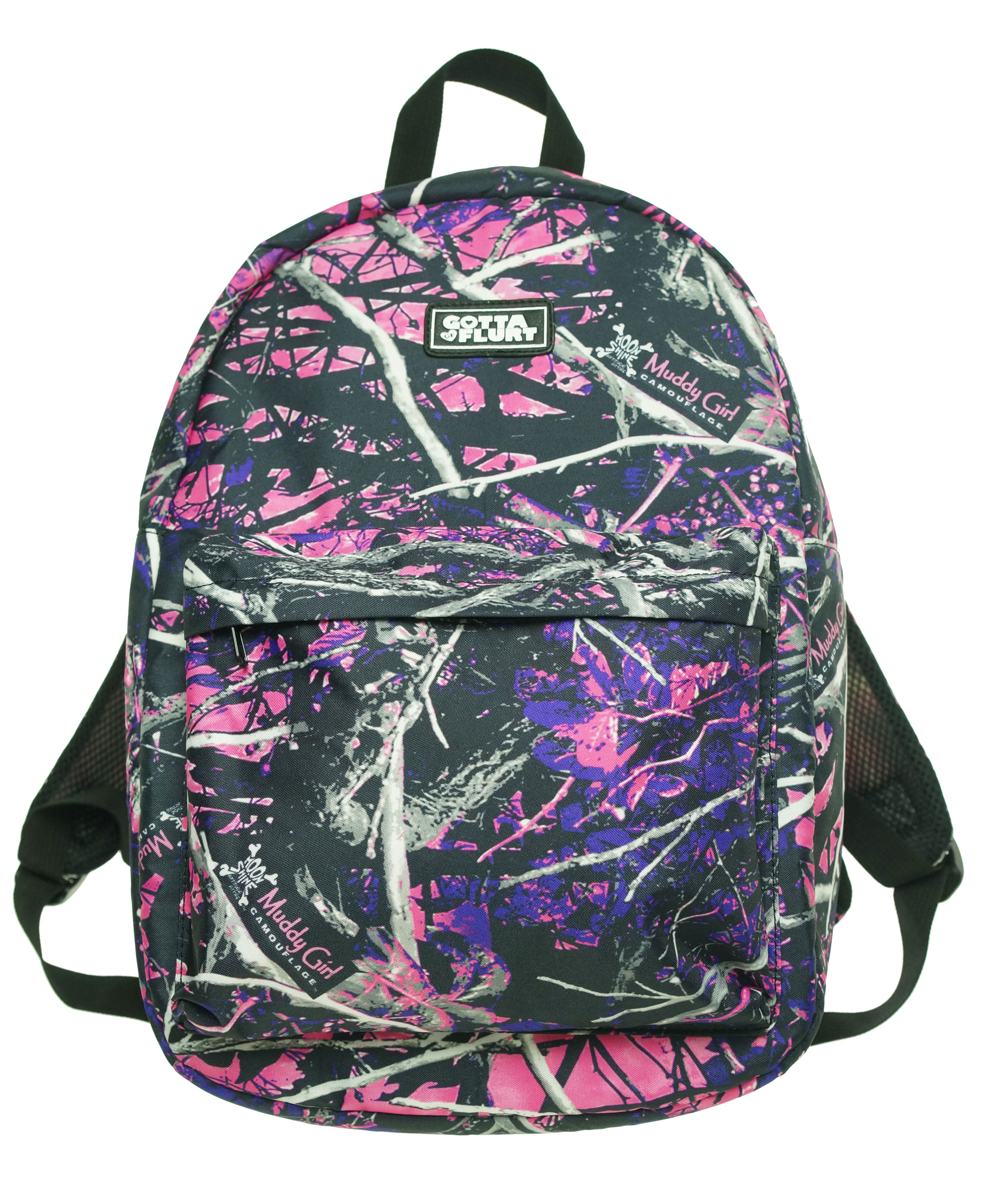 Muddy Girl Pink Purple Camo Exclusive Backpack - Walmart.com