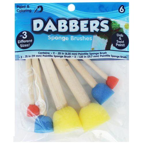 WM Kids Craft Kid Paint Spouncers/Dabbers, 6pk