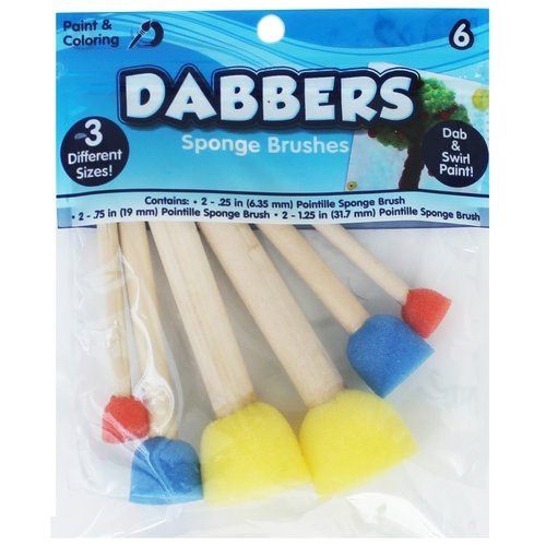 Assorted Paint Dabbers, 6ct.