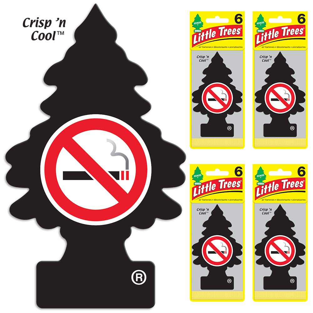 Little Trees auto air freshener, No Smoking (24-Pack)