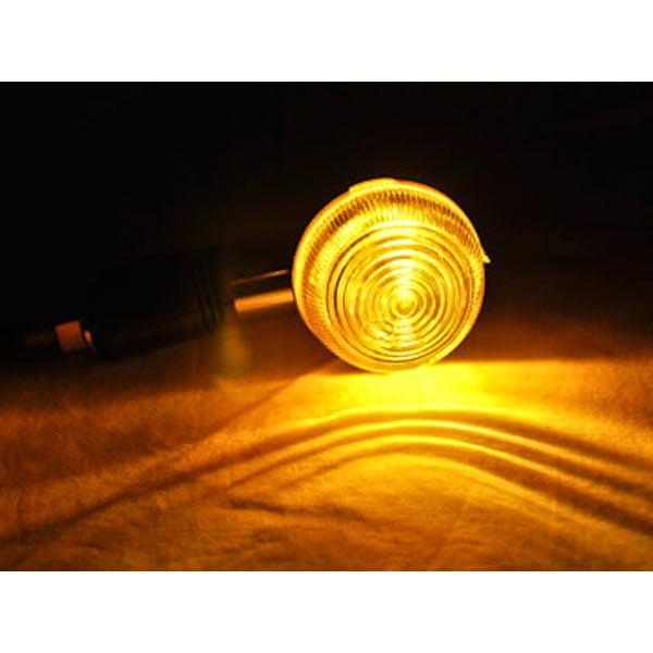 Motorcycle 4 pcs Smoke Bullet Turn Signals Lights For Yamaha Virago XV 250 500 535 700 750 920 1100 - image 1 of 4
