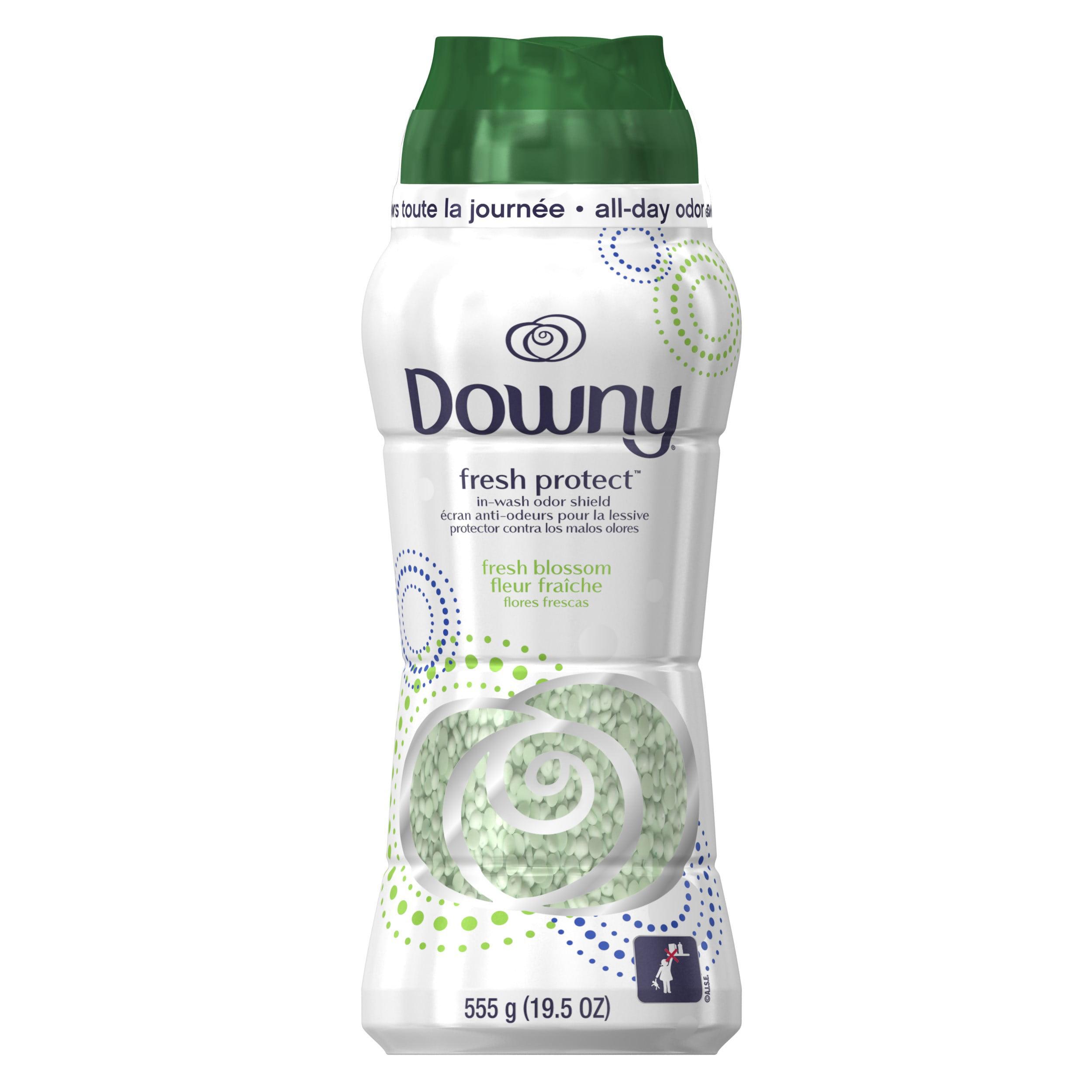 Downy Sport Odor Defense In-Wash Scent Beads, Fresh Blossom, 19.5 oz