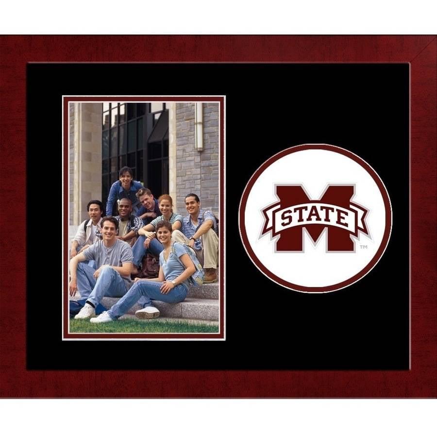 Mississippi State Bulldogs Spirit Photo Frame (Vertical)