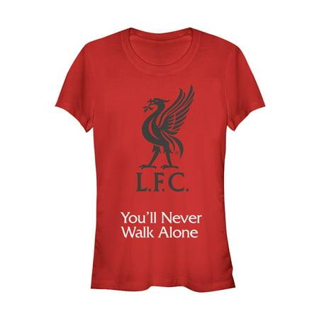 Liverpool Football Club Juniors' Bird Logo Never Walk Alone T-Shirt](T Bird Logo)