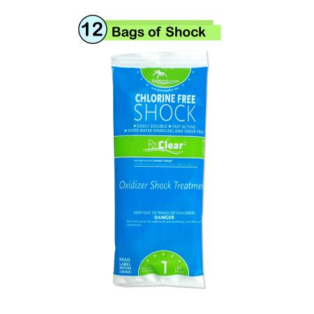 Rx Clear Chlorine Free Swimming Pool Shock