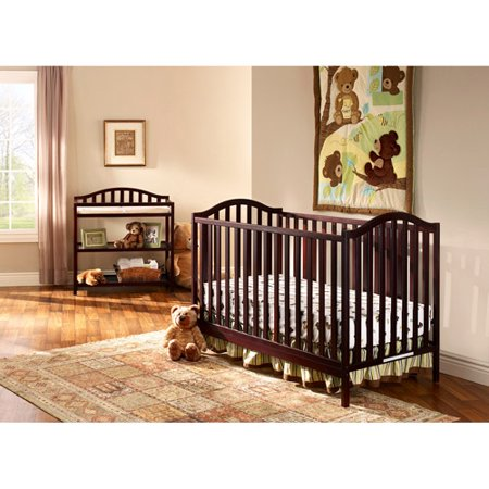 cooper 4 in 1 convertible fixed side crib and changing