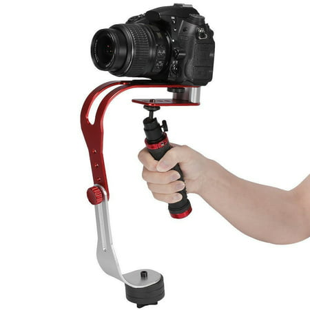 Pro Handheld Video Camera Stabilizer Steady For Gopro  Smartphone  Cannon  Nikon Or Any Dslr Camera Up To 2 1 Lbs With Smooth Pro Steady Glide Cam
