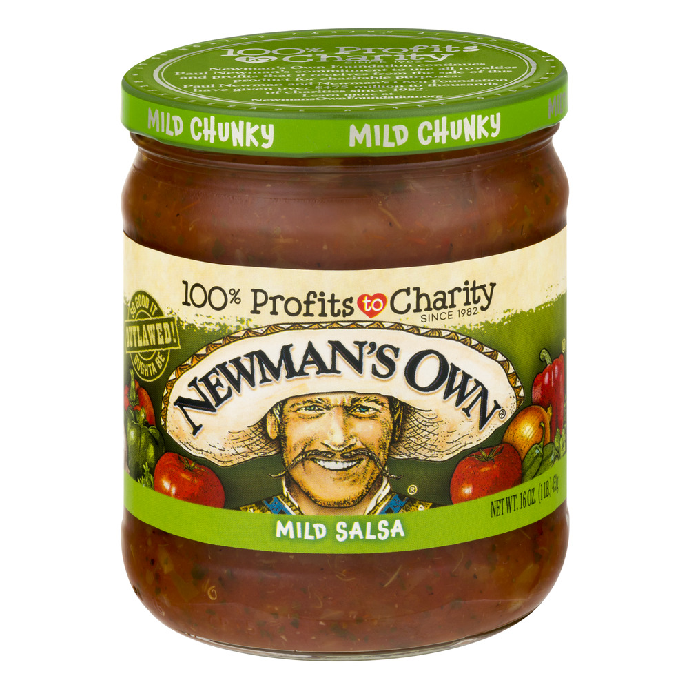 Newman's Own Mild Salsa Mild Chunky, 16.0 OZ by Newman's Own, Inc.