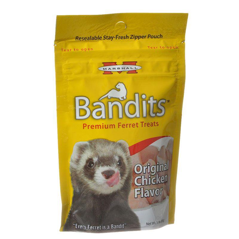 Marshall Pet Products Bandits Premium Chicken Ferret Treats