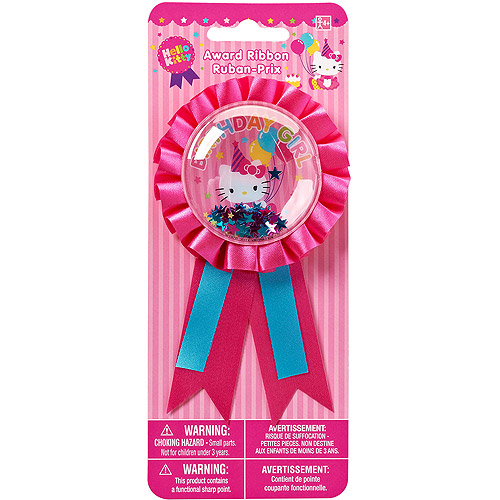 Hello Kitty Ribbon Badge, Party Supplies