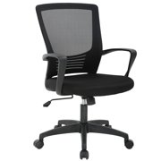 Office Chair Desk Computer Chairs Mid-Back Task Swivel Seat Ergonomic Chair