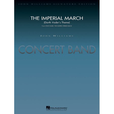 Hal Leonard The Imperial March (Darth Vader's Theme) Concert Band Level 5 Arranged by Stephen (Star Wars Imperial March Flute Sheet Music)