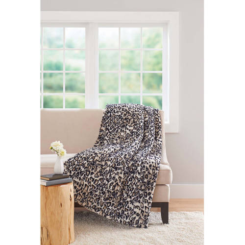 """Better Homes and Gardens 50"""" x 60"""" Faux Fur Throw by"""