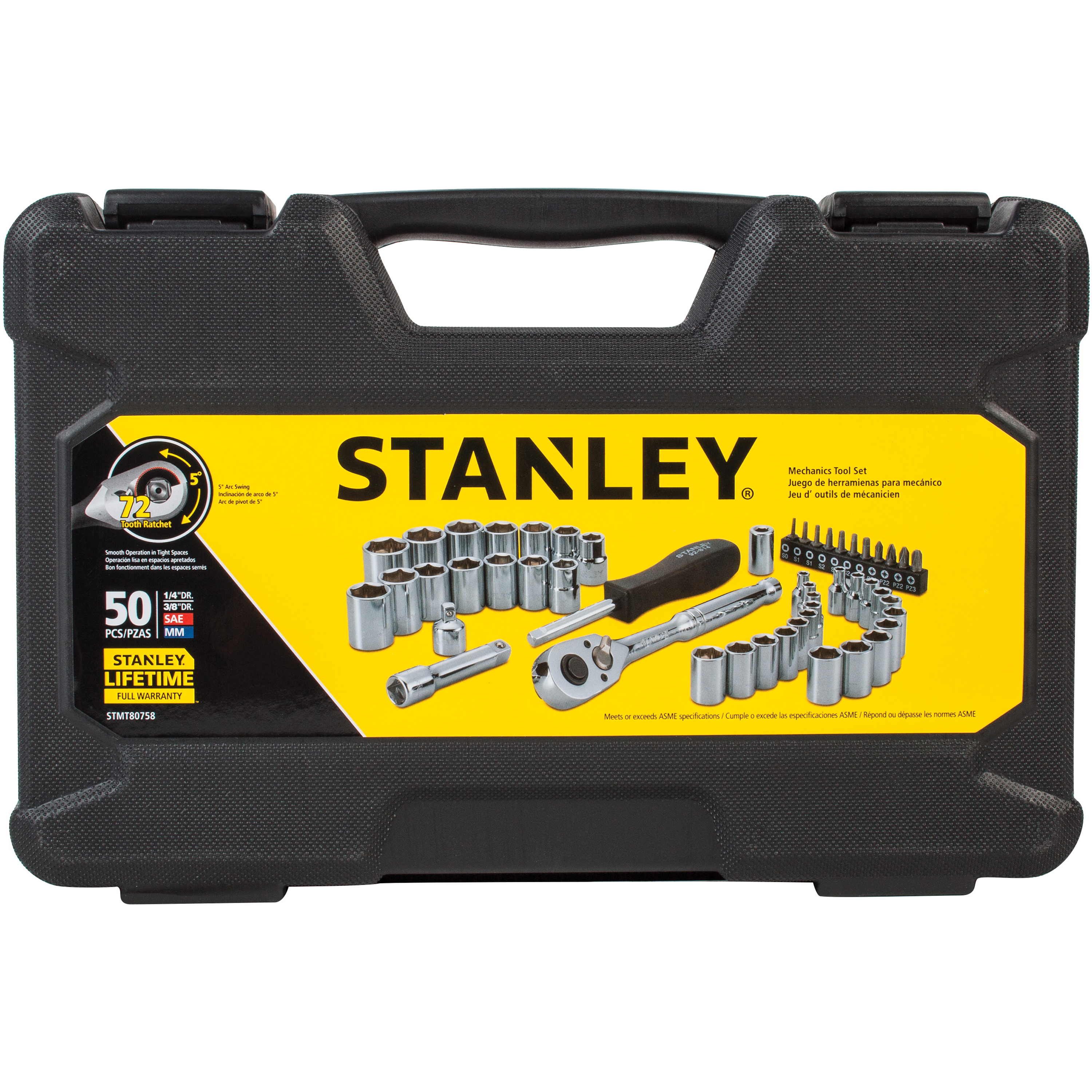 STANLEY 50-Piece Mechanics Tool Set | STMT80758