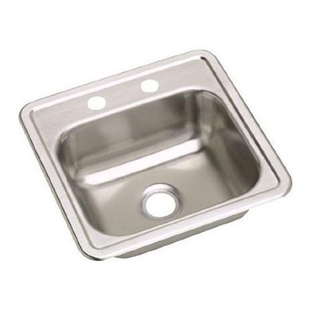 Elkay dayton drop in stainless steel d115161 kitchen sink elkay dayton drop in stainless steel d115161 kitchen sink stainless steel workwithnaturefo