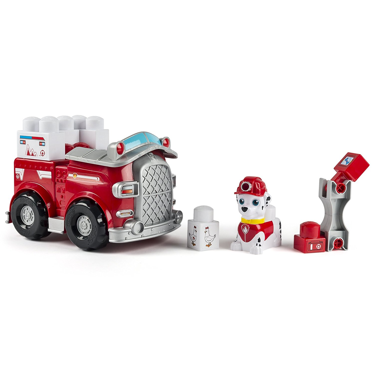 IONIX Jr. , Rescue Marshall Block Set, Revolutionize construction play with Ionix Jr. Paw Patrol Rescue... by
