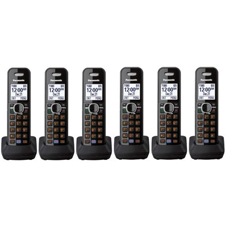 Panasonic KX-TGA680B New DECT 6.0 Plus 1.9GHz Extra Handset And Charger 6 Pack by