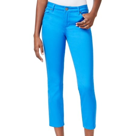 Kut from the Kloth NEW Victorian Blue Womens 14 Ankle Reese Denim