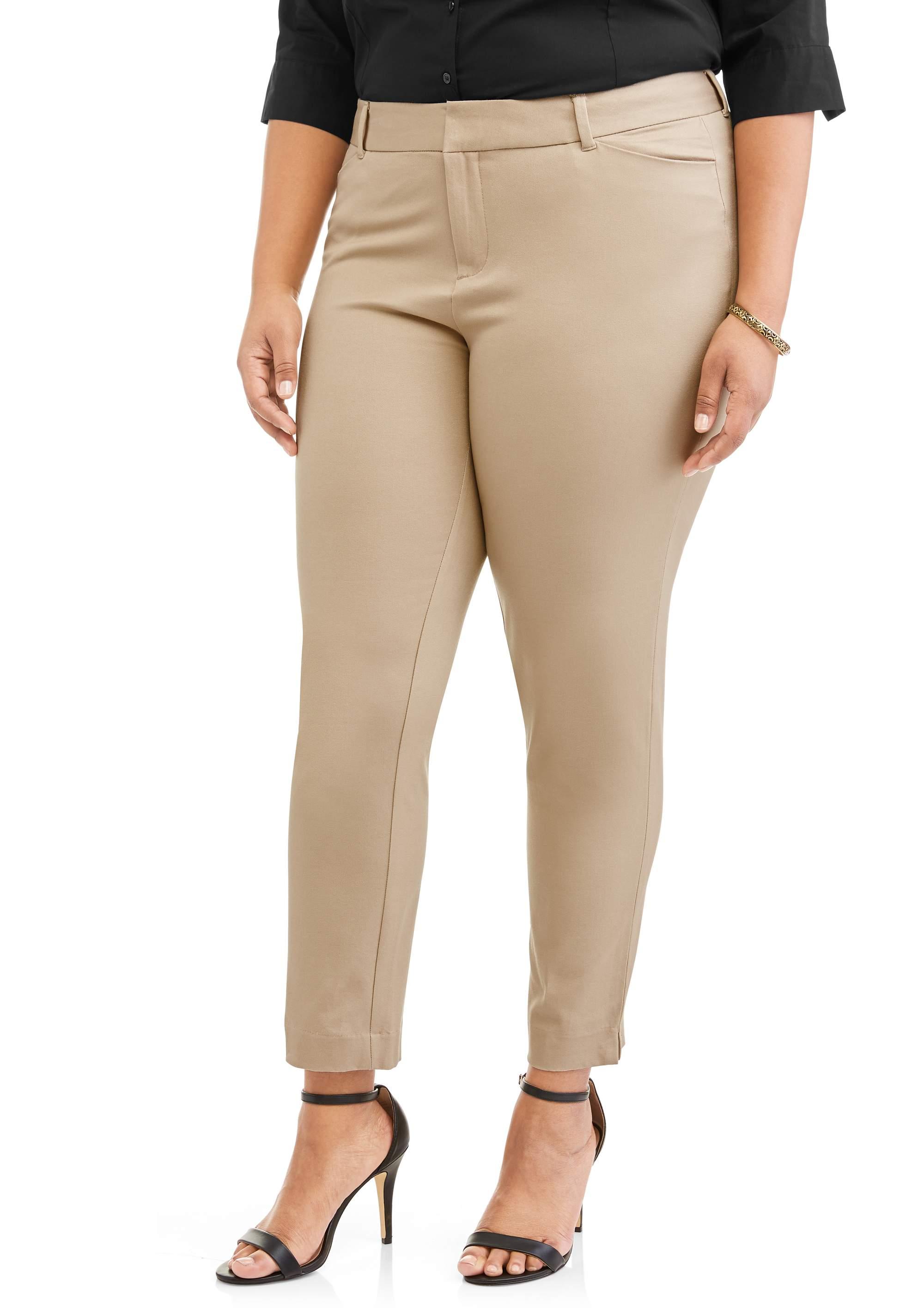Women's Plus Classic Bi-Stretch Pants