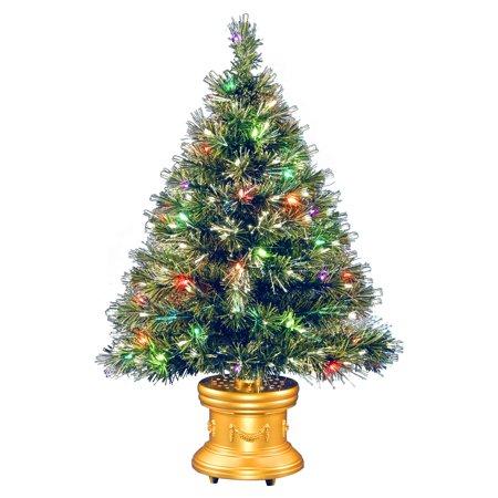 Fiber Optic 2 Function Color Wheel Ice Fireworks Christmas Tree - Fiber Optic 2 Function Color Wheel Ice Fireworks Christmas Tree