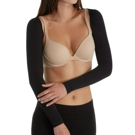 Women's MeMoi MSM-140 SlimMe Long Sleeve Arm Shapers (Black M) - image 1 of 1