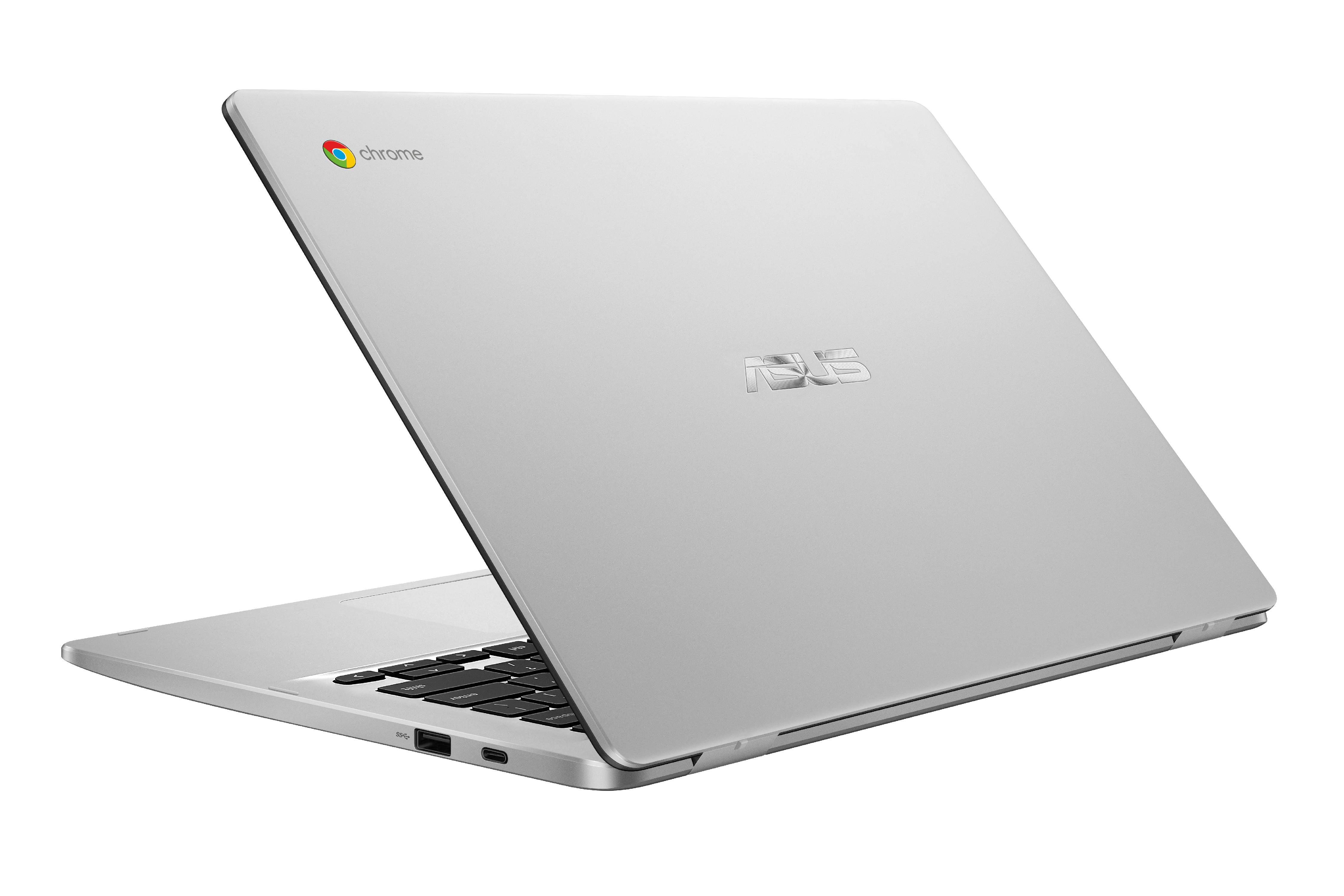 "Asus Chromebook C423NA, 14"" HD Nano-Edge Display, Intel Processor, 4GB DDR4, 64GB eMMC, Chrome OS"