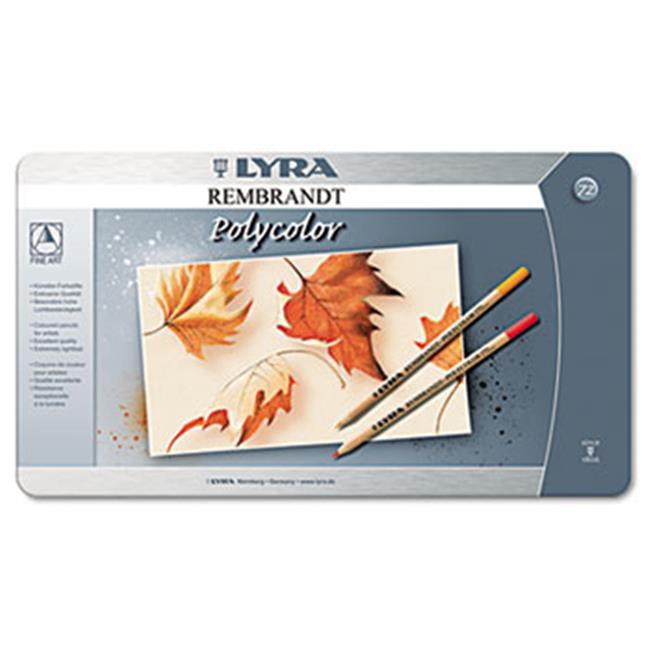 Dixon Ticonderoga Co.  2001720 Artist Colored Woodcase Pencils, Assorted, 72 per Pack