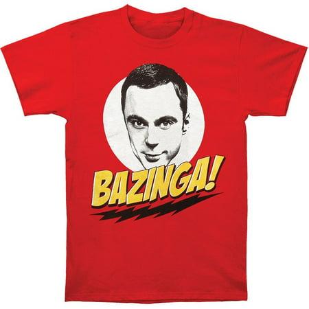 The Big Bang Theory T-Shirt - Bazinga W/Sheldon - Big Bang Theory Halloween Party Quotes