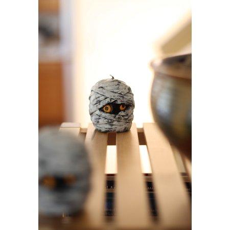 Canvas Print Head Shelf Halloween Home Skeleton Skull Spooky Stretched Canvas 10 x 14 4 Head Multi System