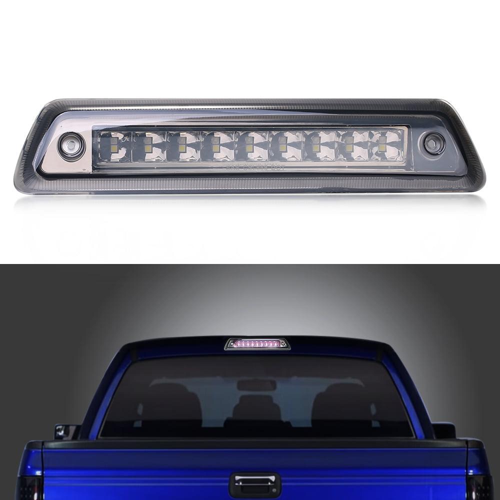 For 2009-2014 Ford F150 Pickup Trucks LED Red Lamp Smoke Lens Brake Tail Lights